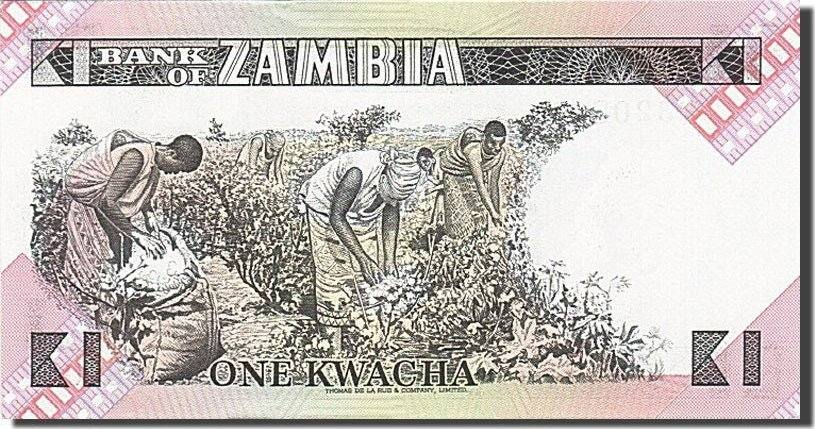 1 Kwacha 1980-1986 Sambia UNC(65-70)