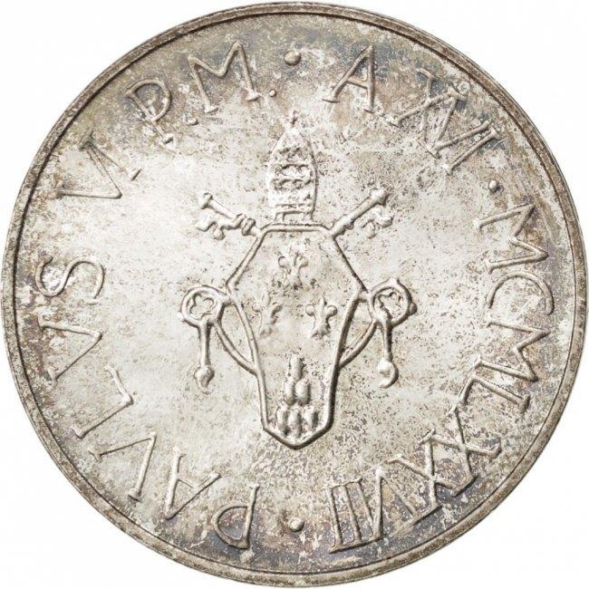 500 Lire 1978 Vatikanstadt Paul VI MS(60-62)