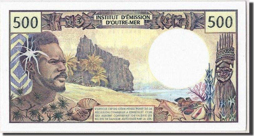 500 Francs Undated (1992) French Pacific Territories KM:1a, UNZ UNZ