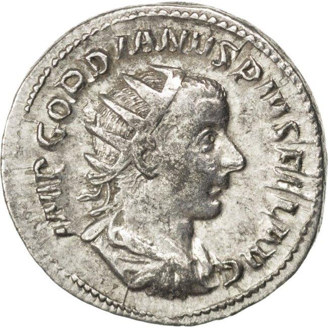Antoninianus  Gordian III AU(55-58)