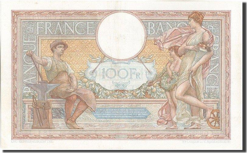 100 Francs 1932 Frankreich 100 F 1908-1939 ''Luc Olivier Merson'', KM:78b,... SS+