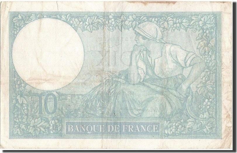 10 Francs 1939 Frankreich EF(40-45)