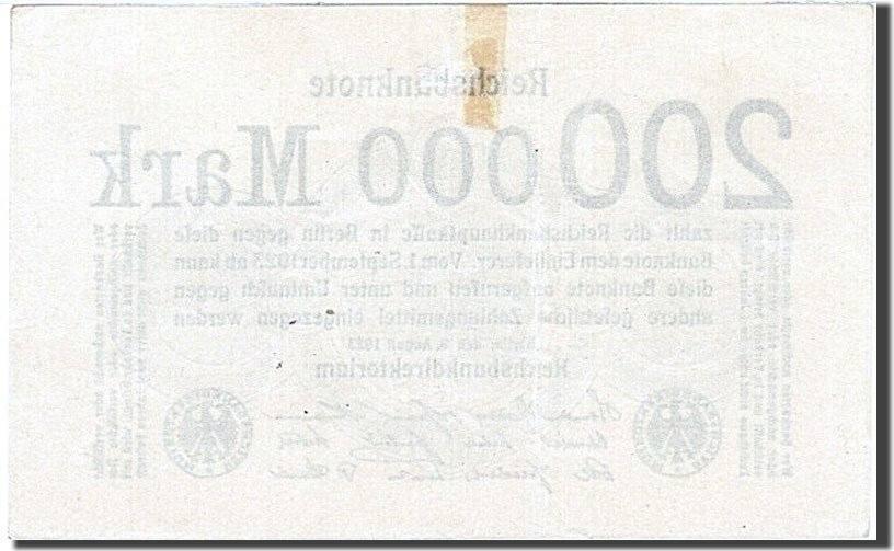200,000 Mark 1923 Deutschland UNC(60-62)