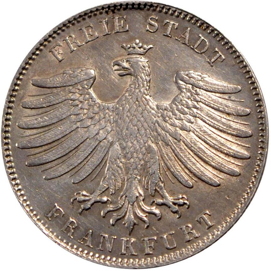 1 2 gulden 1841 deutsch staaten m nze frankfurt am main. Black Bedroom Furniture Sets. Home Design Ideas