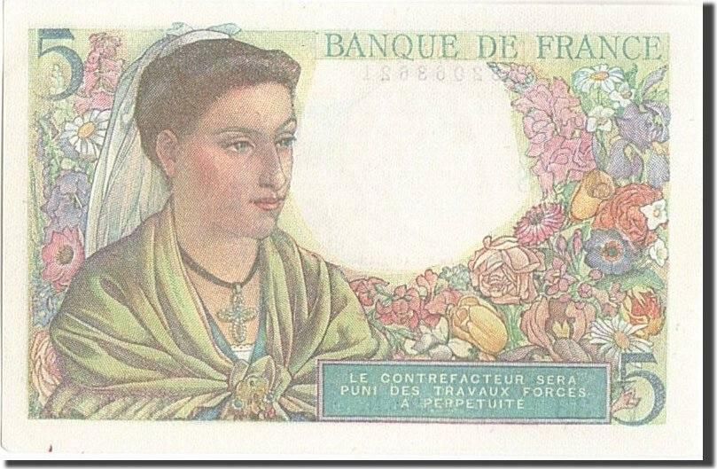 5 Francs 1945 Frankreich UNC(64)