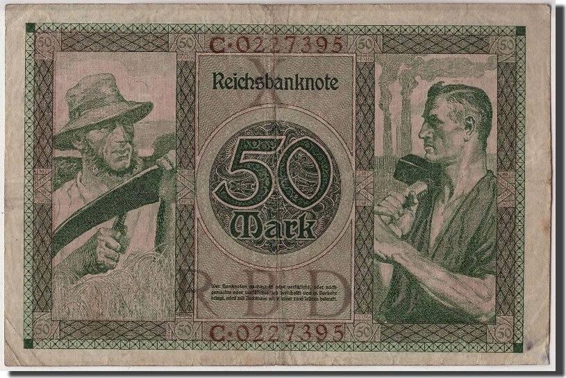 50 Mark 1920 Deutschland VF(20-25)