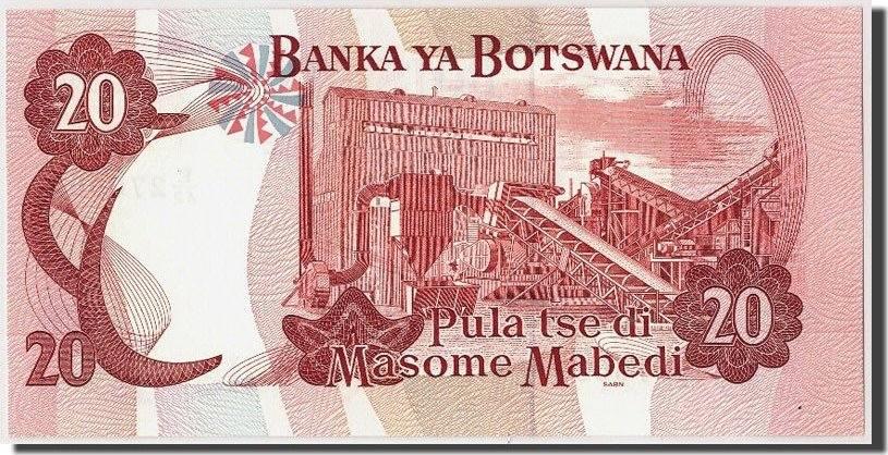 20 Pula Botswana UNC(65-70)