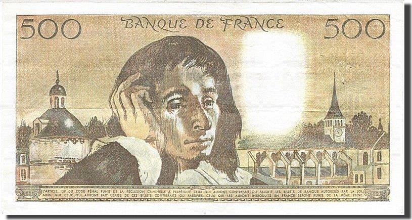 500 Francs 1968 Frankreich AU(55-58)
