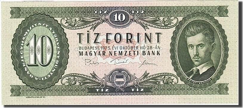 10 Forint 1957-1983 Ungarn UNC(65-70)