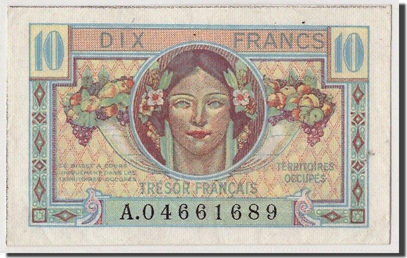 10 Francs Undated (1947) Frankreich UNC(63)