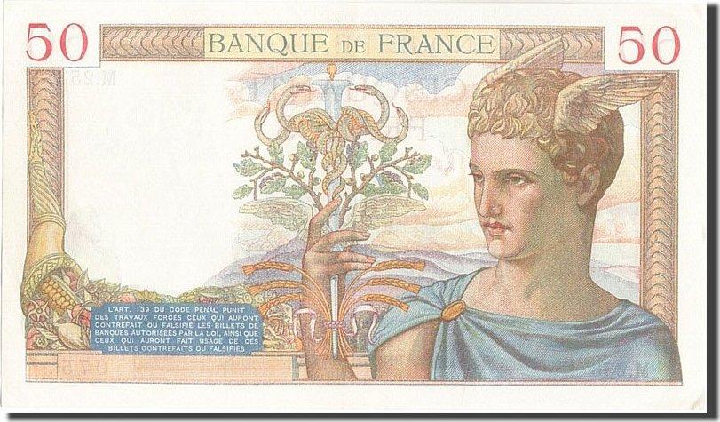 50 Francs 1935 Frankreich UNC(60-62)