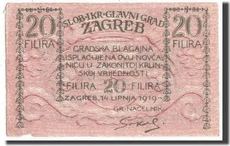 20 Filira 1919 Jugoslawien EF(40-45)