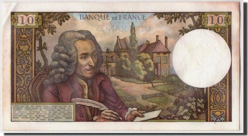 10 Francs 1967 Frankreich AU(50-53)