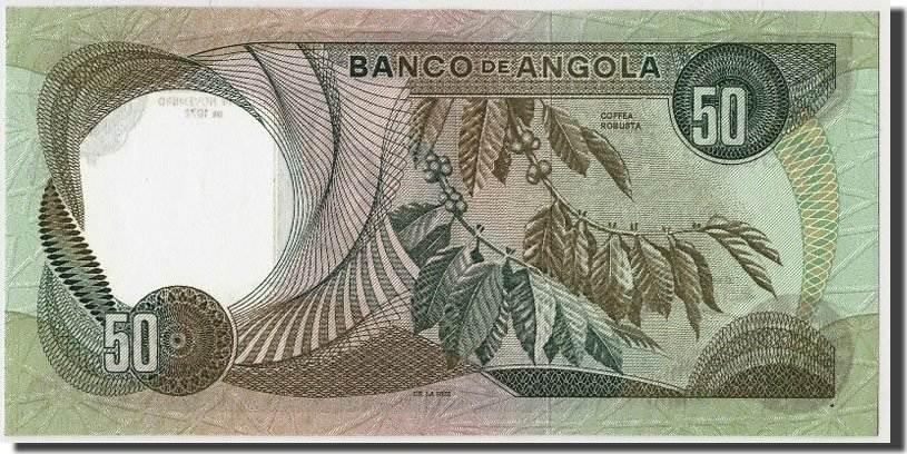 50 Escudos 1972 Angola UNC(65-70)