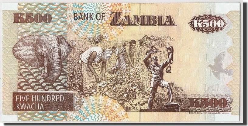 500 Kwacha 1992 Sambia UNC(65-70)