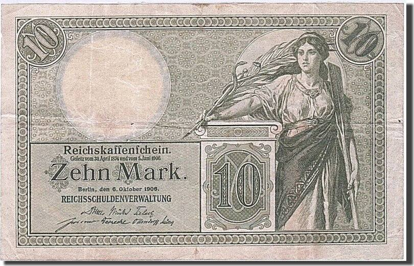10 Mark 1904-1906 Deutschland EF(40-45)