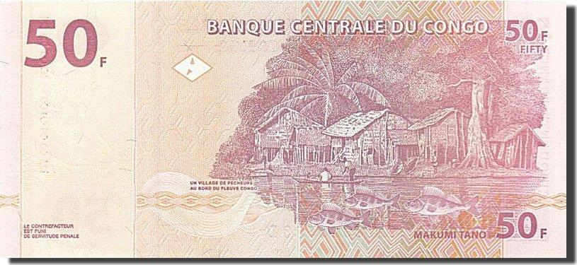 50 Francs 2000 Congo Democratic Republic UNC(65-70)
