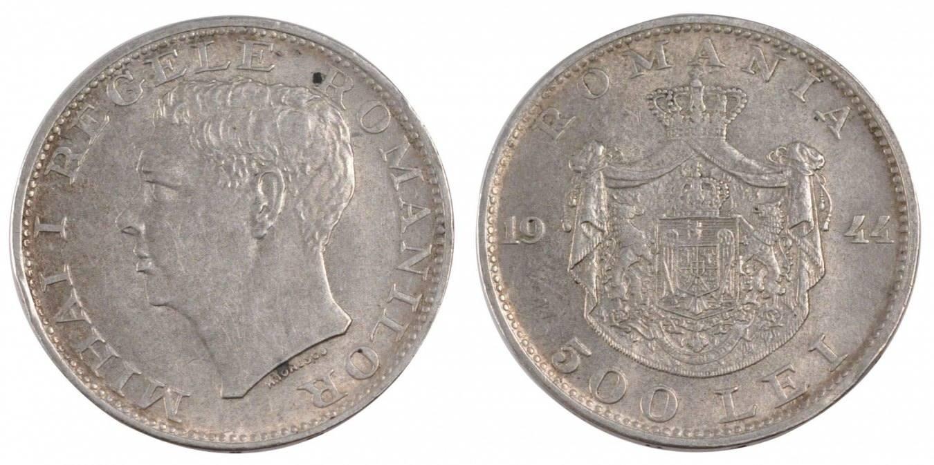500 Lei 1944 Rumänien Mihai I AU(55-58)
