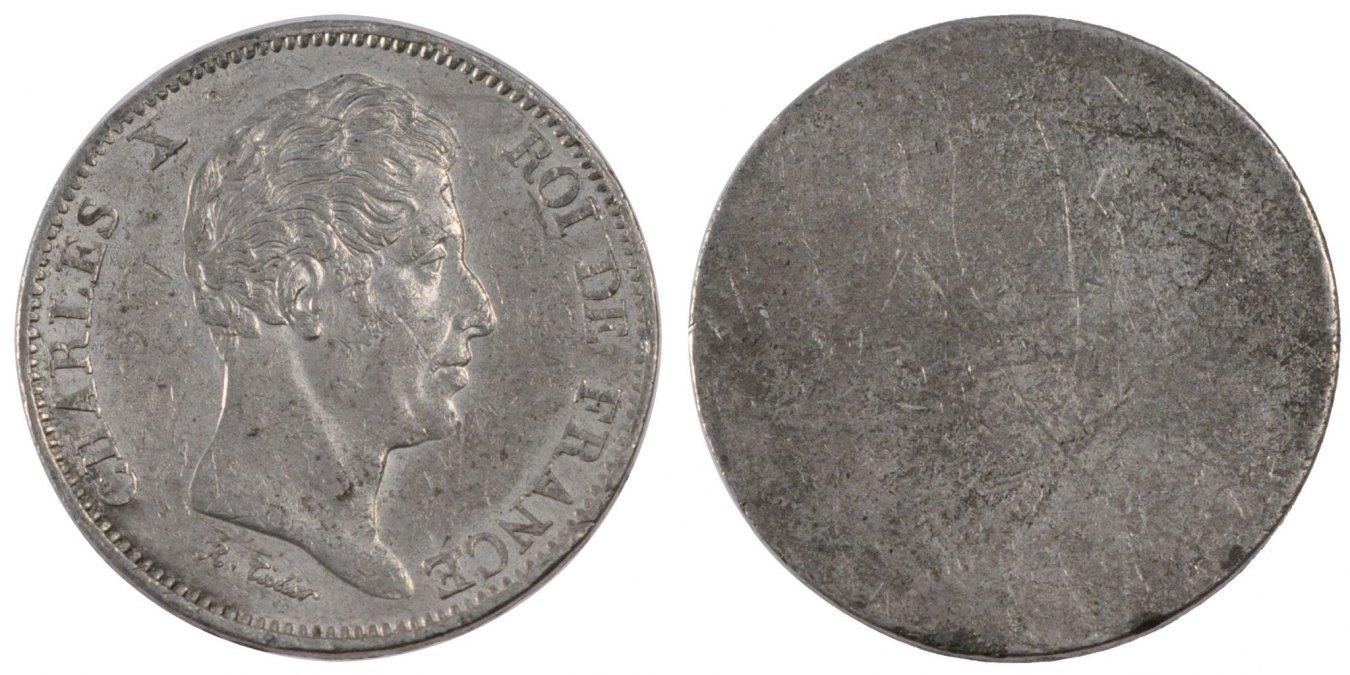 40 Francs 1824 Frankreich AU(55-58)