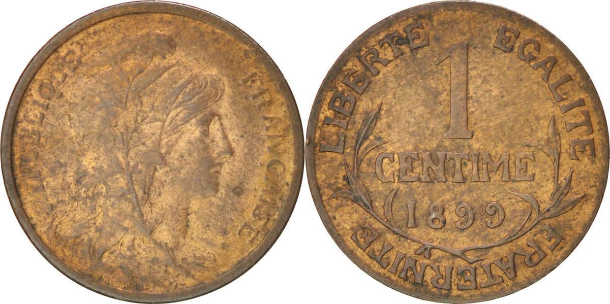 Centime 1899 Frankreich Dupuis AU(55-58)