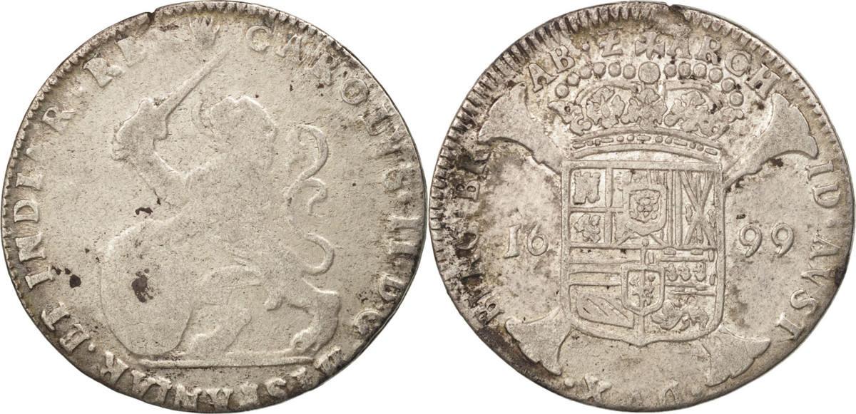 Escalin 1699 Antwerp Spanische Niederlande VF(20-25)