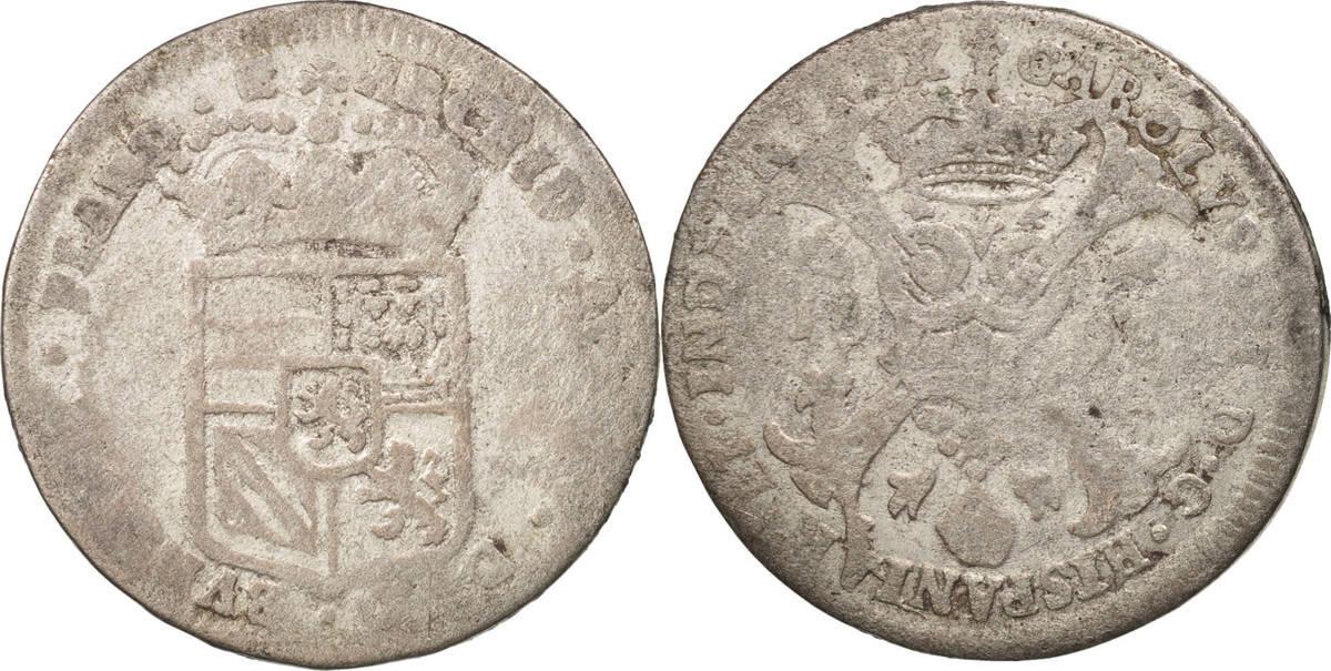 4 Patards 1698 Bruges Spanische Niederlande F(12-15)