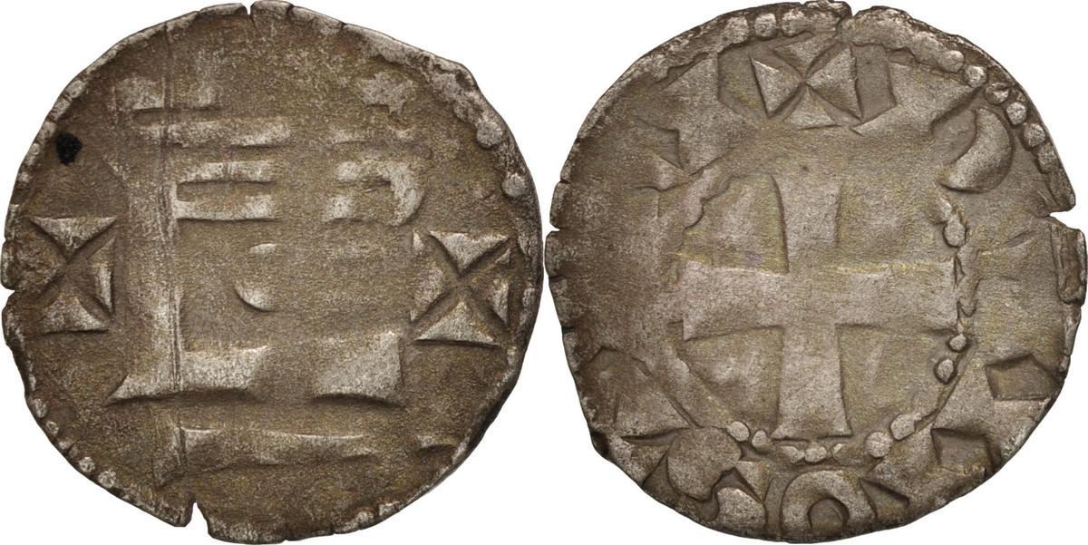 Denarius Frankreich Vicomté De Châteaudun,Thibaut V,Silber,Boudeau:244 SS