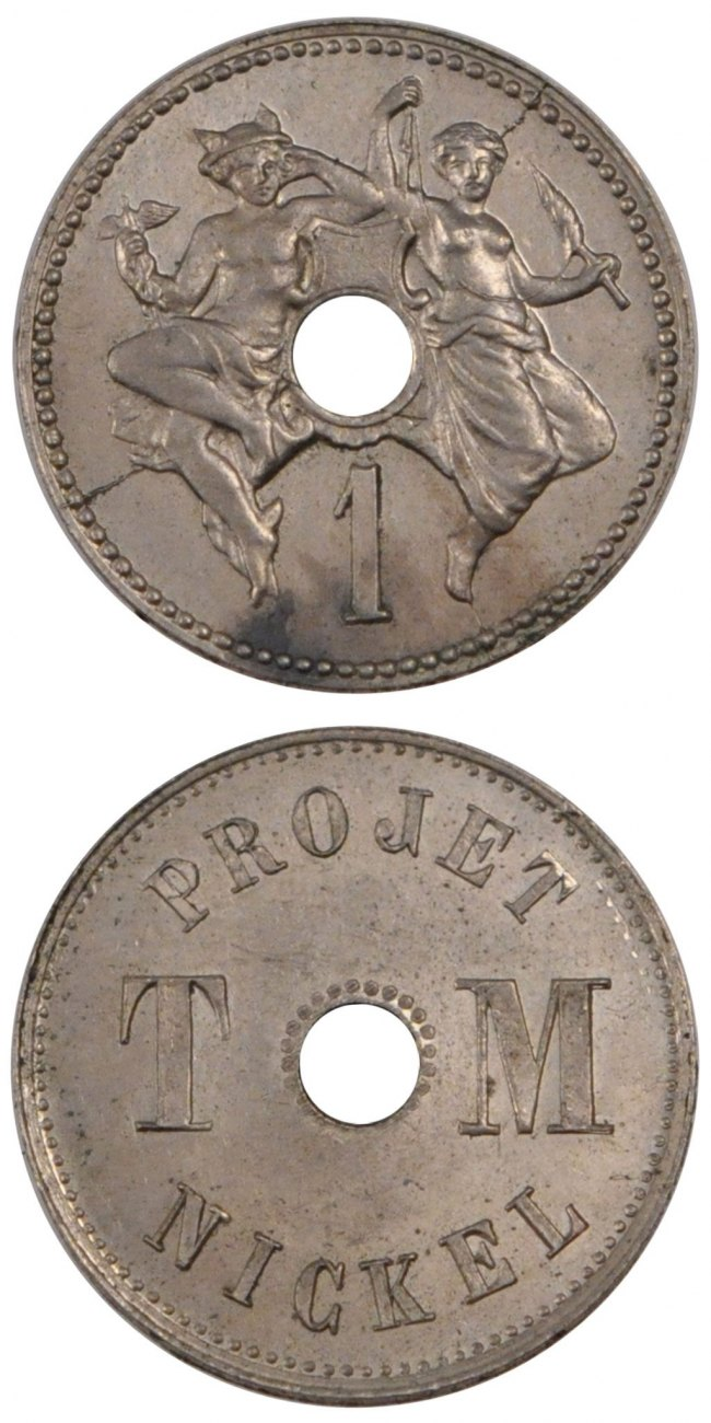5 Centimes 1889 Frankreich MS(60-62)