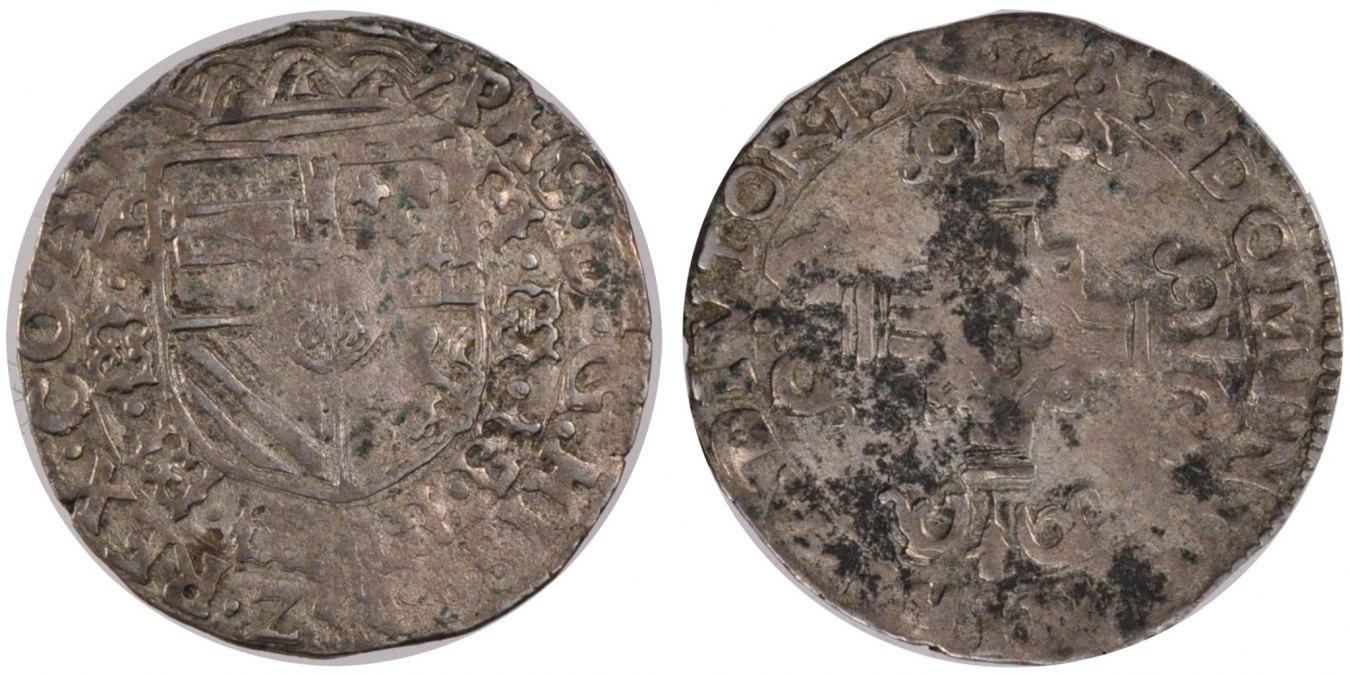 1/20 Ecu 1585 Arras Frankreich VF(30-35)