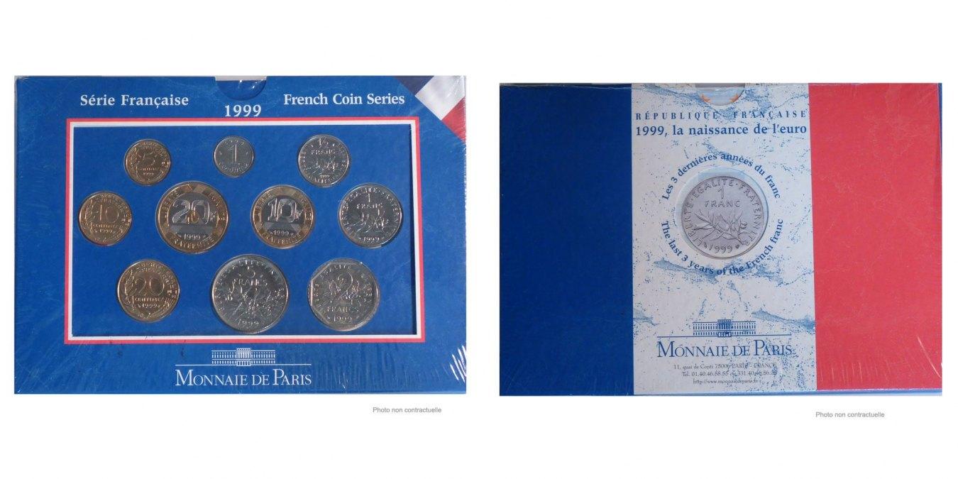 Set 1999 Frankreich MS(65-70)