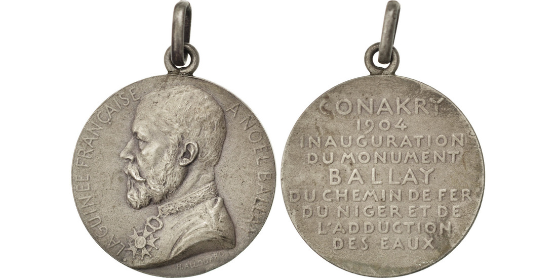 Medal 1904 French Guinea AU(55-58)