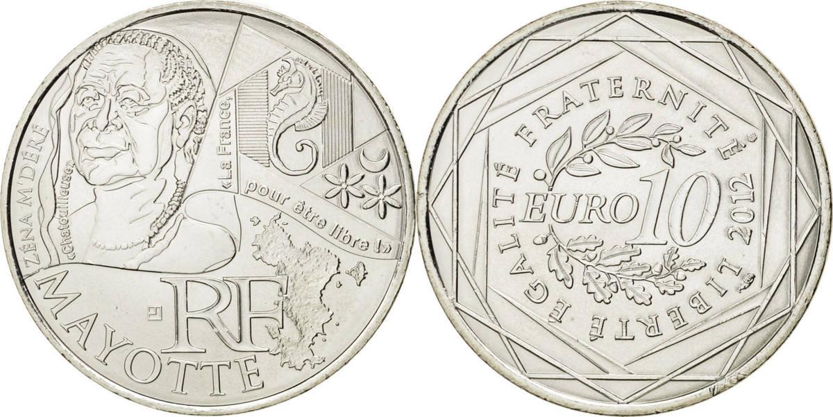 10 Euro 2012 (a) Frankreich Mayotte MS(63)