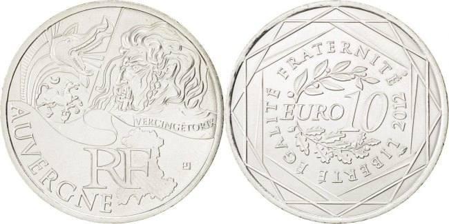 10 Euro 2012 (a) Frankreich Auvergne MS(63)