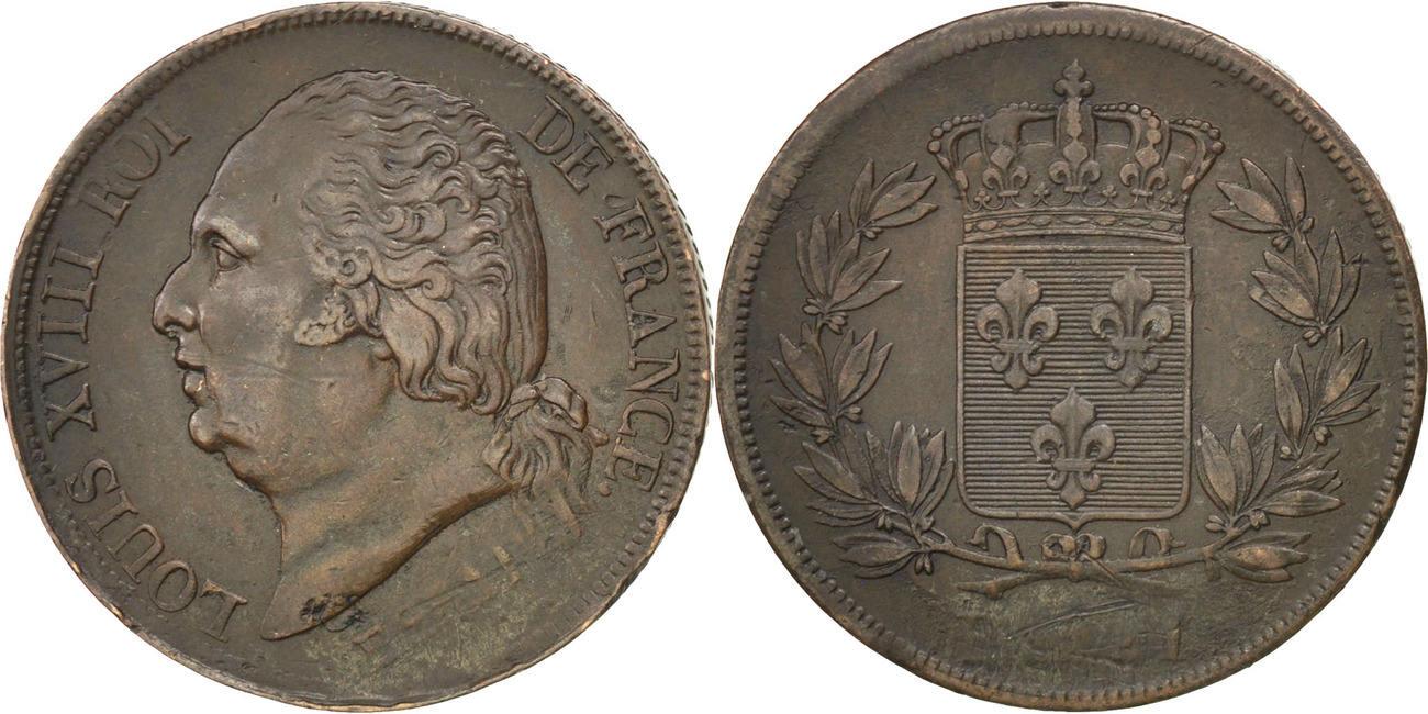 2 Francs 1815 Frankreich EF(40-45)