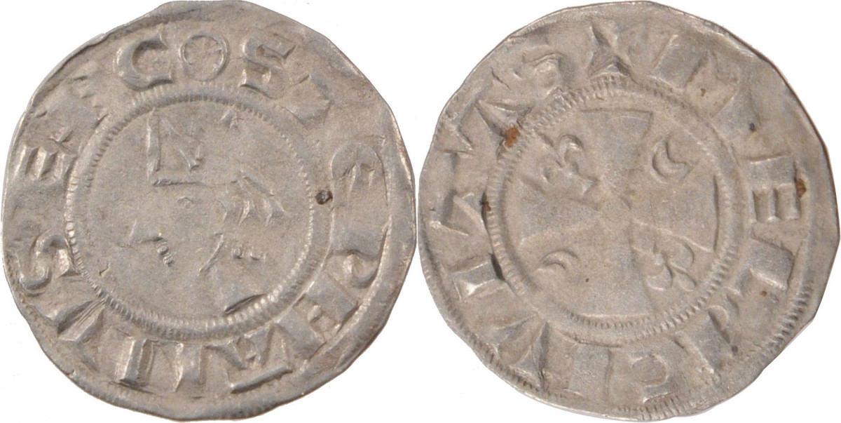 Denarius Meaux Frankreich FRANCE, Meaux, Silver, 1.05 SS+