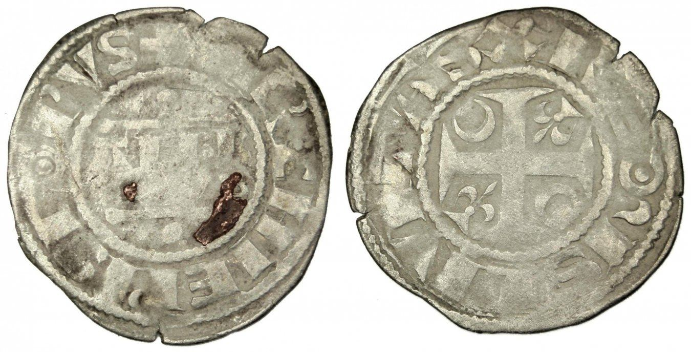 Denarius Reims Frankreich FRANCE, Reims, Silver, 0.90 S