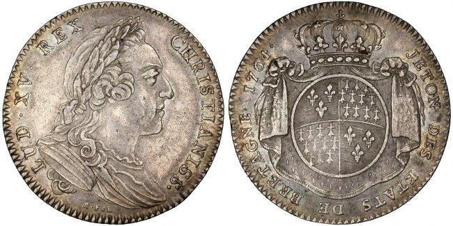 Token 1764 Frankreich AU(50-53)