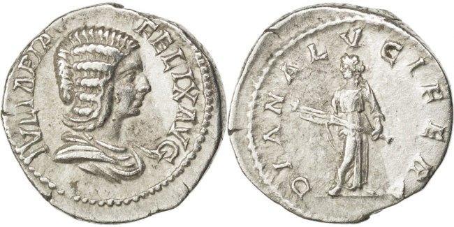 Denarius Roma Julia Domna AU(50-53)