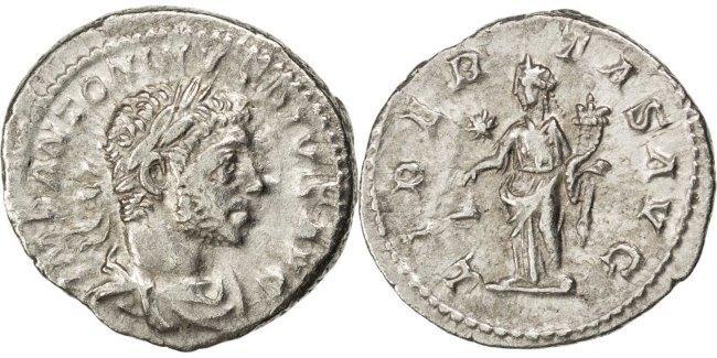 Denarius Roma Elagabalus EF(40-45)