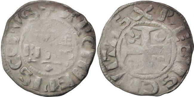Denarius Reims Frankreich EF(40-45)
