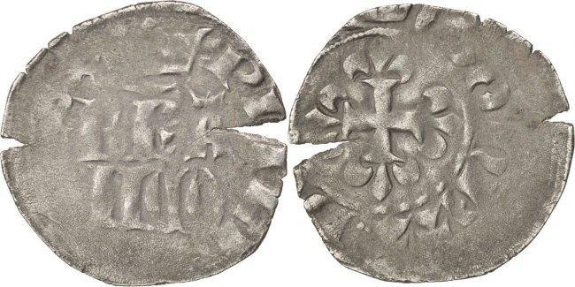 Double Parisis Frankreich 1328-1350 Philippe VI VF(30-35)