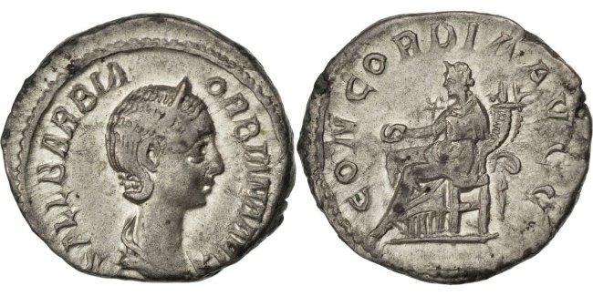 Denarius Roma  AU(50-53)