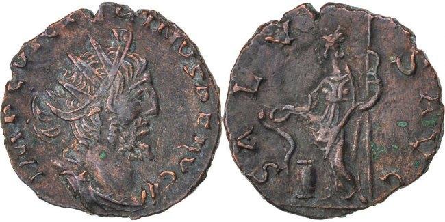 Antoninianus Trier Victorinus AU(50-53)