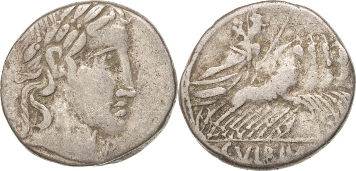 Denarius Rome Vibia VF(30-35)