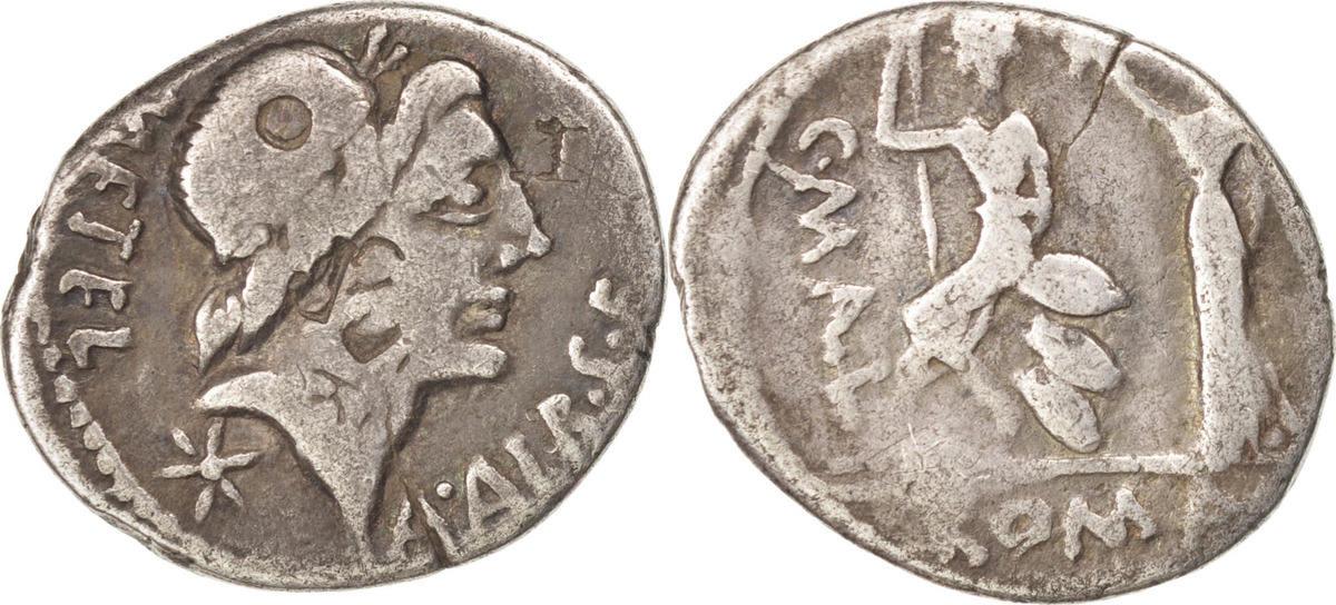 Denarius Rome Caecilia VF(20-25)