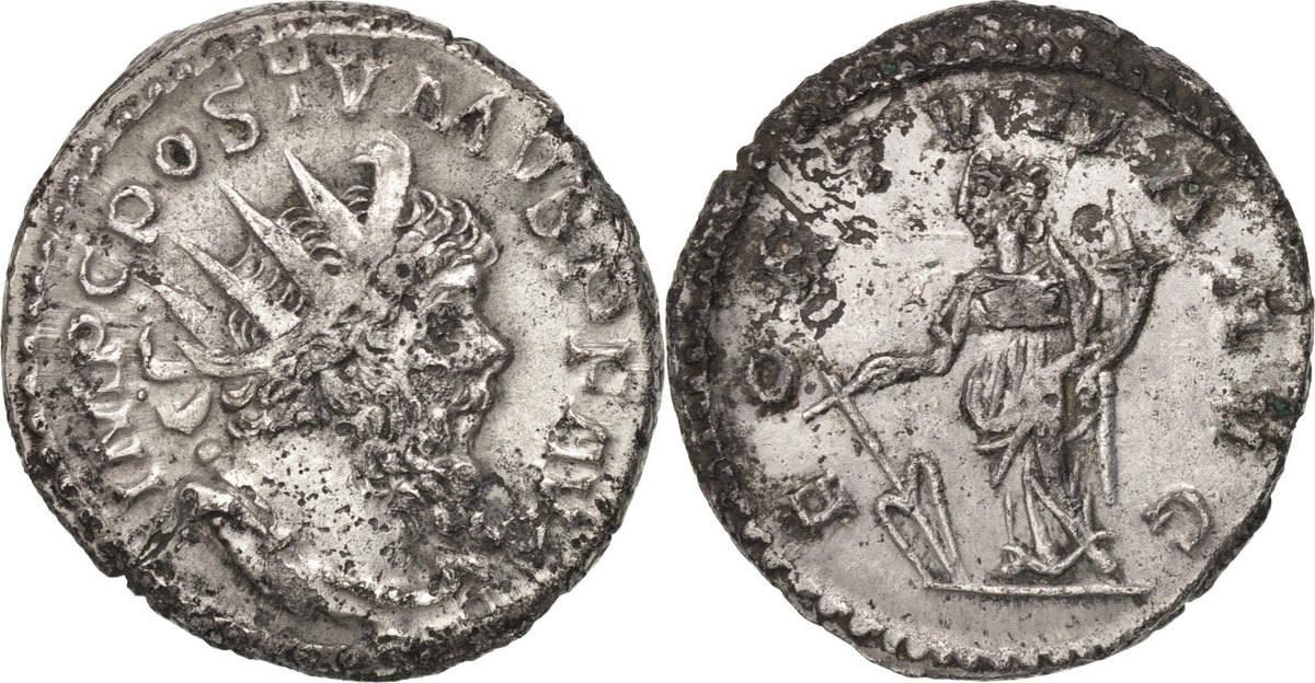 Antoninianus Trier Postumus AU(50-53)