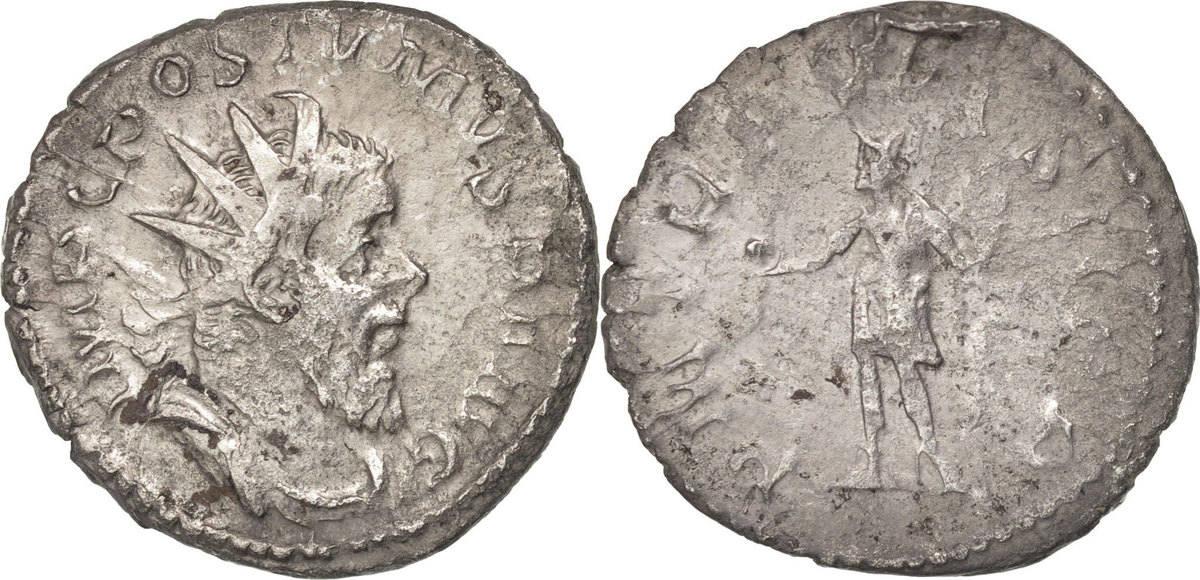 Antoninianus Trier Postumus VF(30-35)
