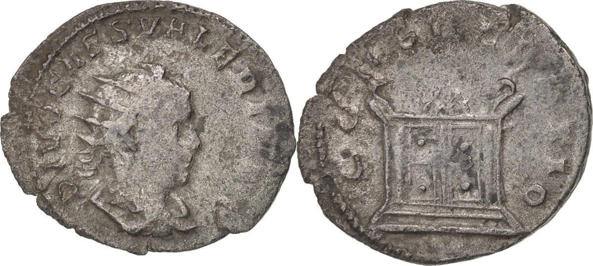Antoninianus Rome Valerian II VF(30-35)