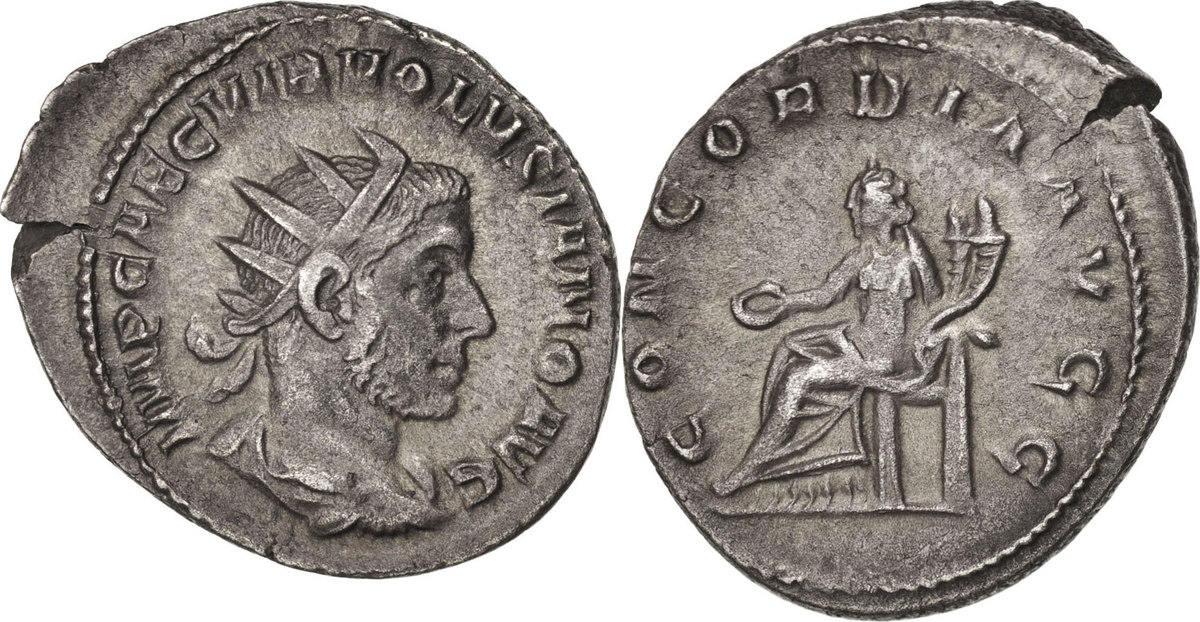 Antoninianus Rome Volusian AU(50-53)