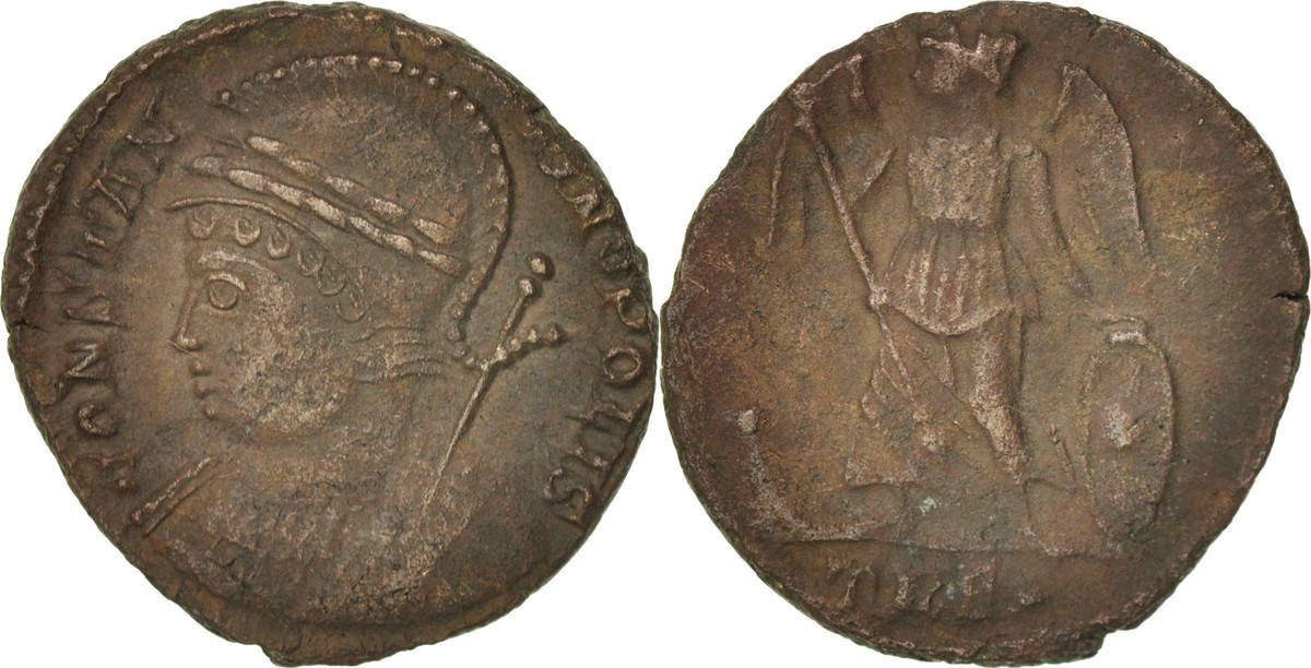 Follis Trier City Commemoratives EF(40-45)